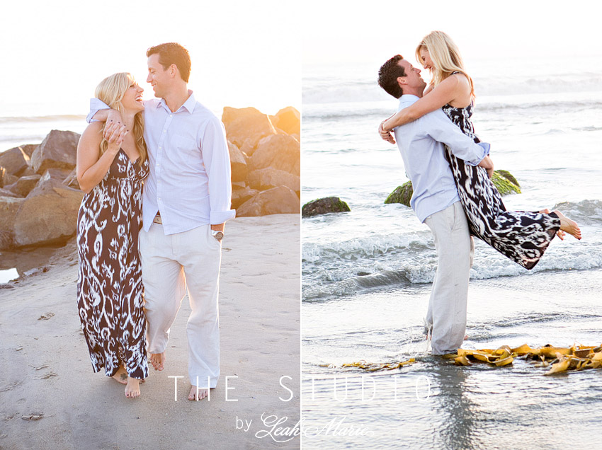 San Diego Beach Engagement Session