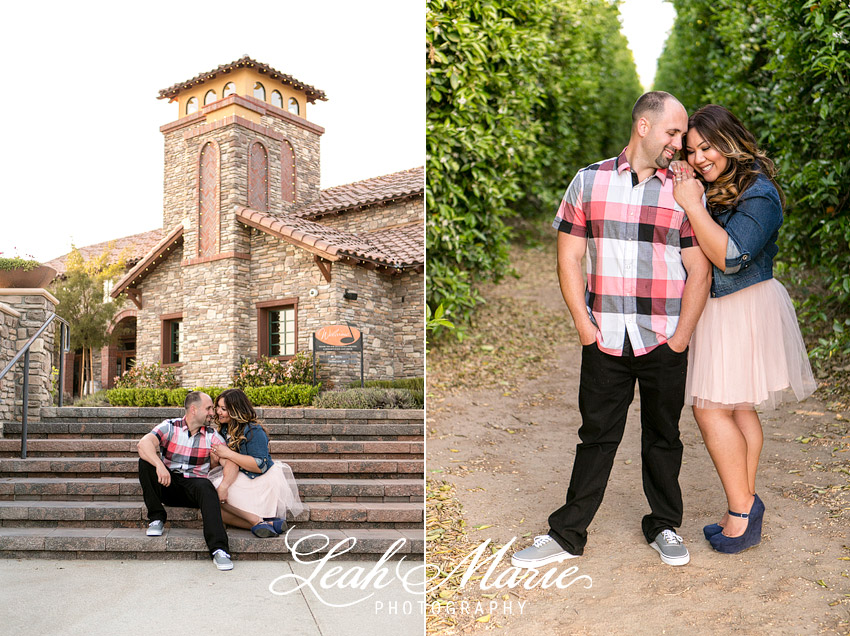 Lorimar Winery Engagement Session