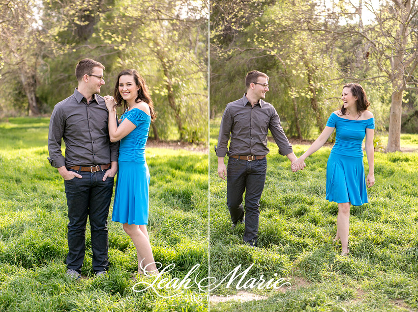 Temecula Engagement Session Outdoor Forest