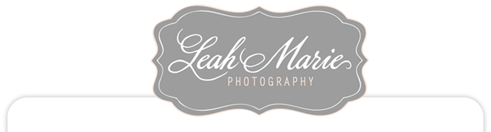 Temecula Wedding Photographer Leah Marie logo